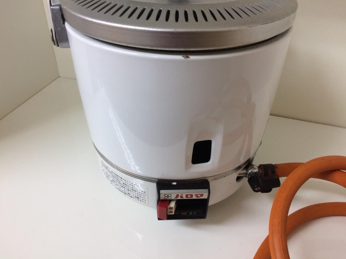 □ジャンク パロマ ガス炊飯器(都市ガス用) PR-1号K 製造年踏不明 Э□_画像2