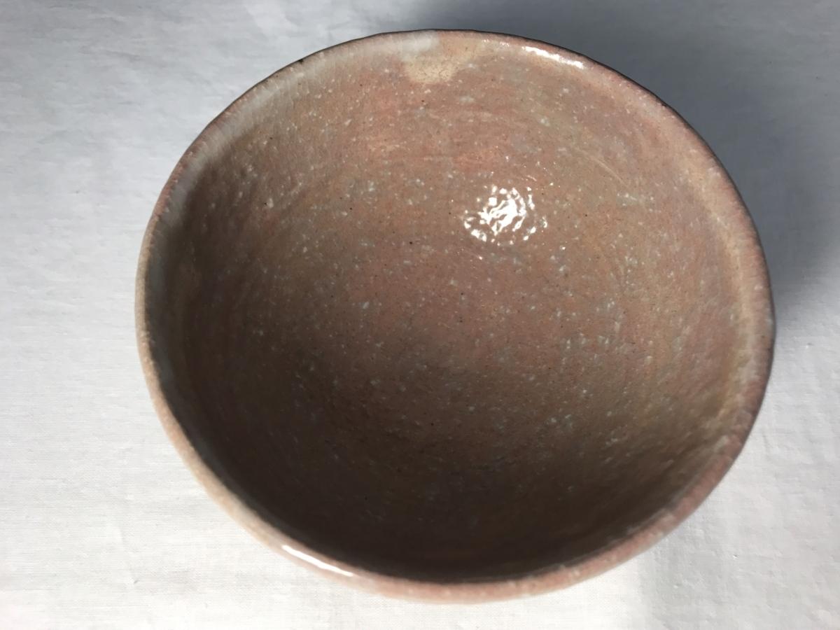 ♪ 梅田陶楽/萩焼 陶楽 茶道具 抹茶碗 中古品 ⇔♪_画像4