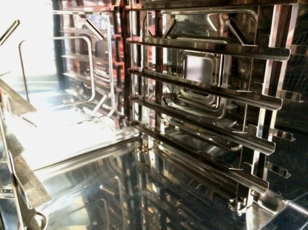 □訳有 ホシザキ スチームオーブン MIC-5TA3/店舗引渡・近隣配達限定品 Э□_画像4