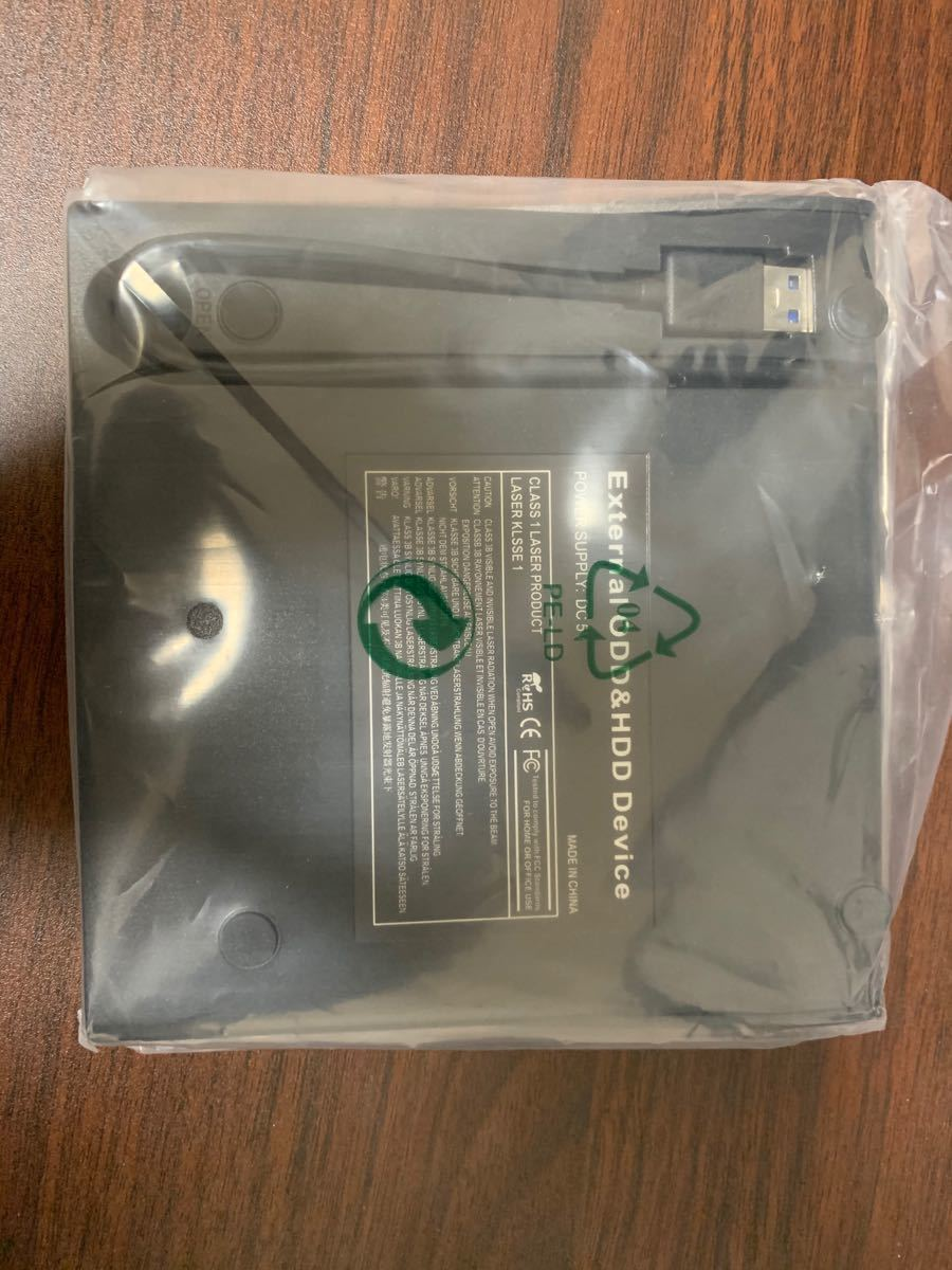ポータブル DVDドライブ USB3.0 外付け