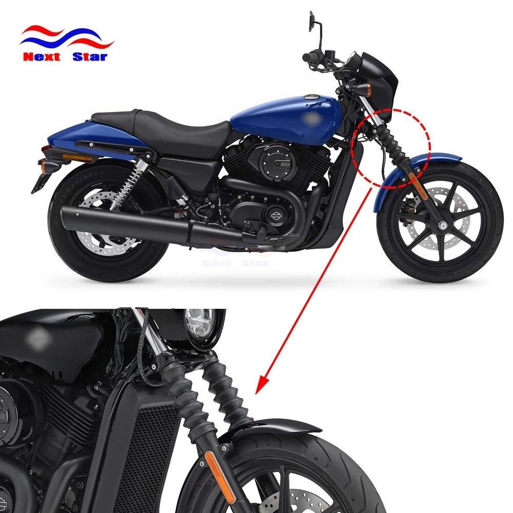 オートバイゴムフロントフォークカバーショックアブソーバーハーレーダビッドソンストリート XG750 XG500 XG 750 500 2014 2015 2016 2017_画像2