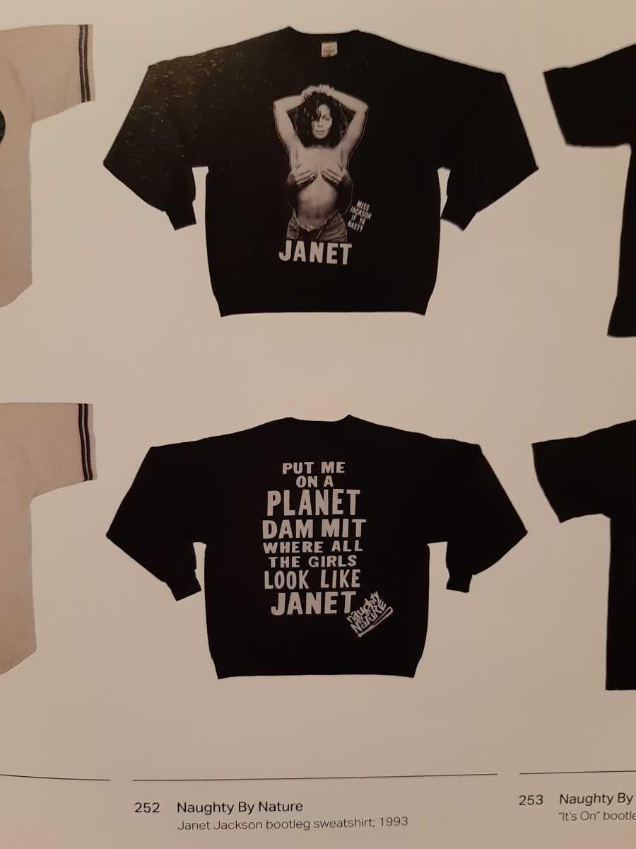 ヴィンテージ JANET JACKSON Tシャツ naughty by nature raptees ジャネット ジャクソン ブートレグ ラップ ヒップホップ ビンテージ_画像6