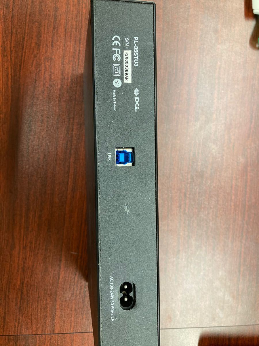 PLANEX外付けハードディスク 高速USB3.0 残量メーター対応 2TB HDD