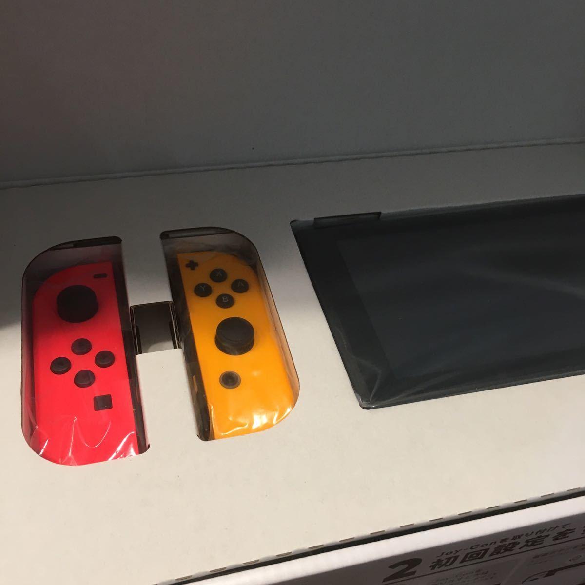 Nintendo Switch ニンテンドースイッチ Switch本体 ネオンレッド ネオンオレンジ 任天堂