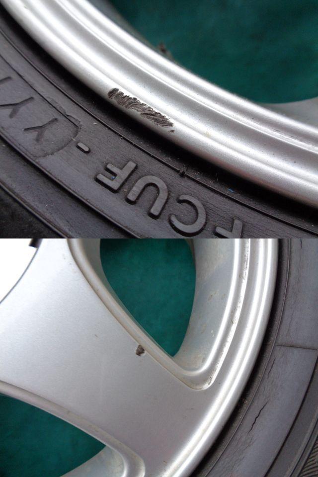 B-3番■155/65R13 ラジアルタイヤ  13×4.00B(4穴マルチ)社外アルミホイール SX  4本■B-3番_画像5