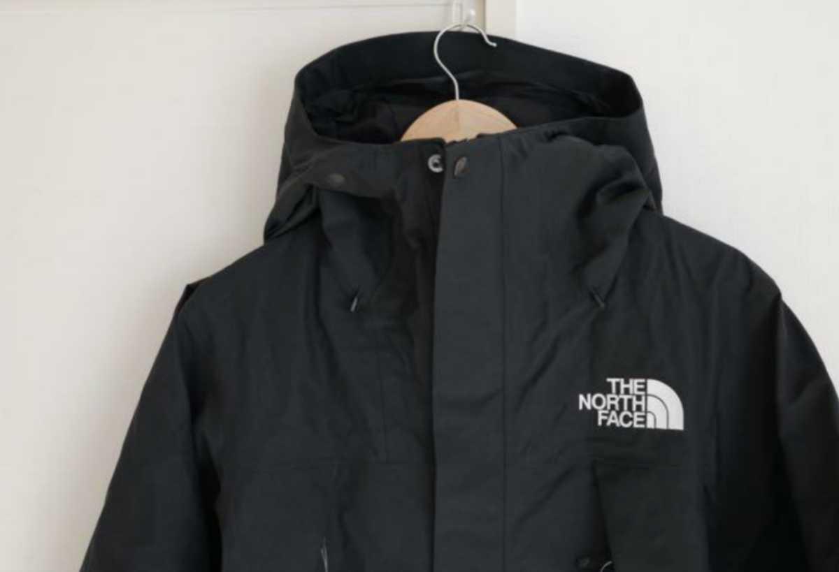 THE NORTH FACE ノースフェイス NP61800 GORE-TEX MOUNTAIN JACKET マウンテンジャケット M ブラック 未使用 新品 ダウン バルトロライト