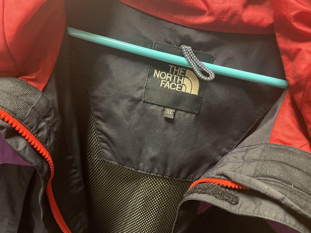 ザ ノースフェイス THE NORTH FACE スクープジャケット マウンテンパーカー ブルゾン ナイロン アトモス ATMOS 別注 紫 黒 XL NP15501A