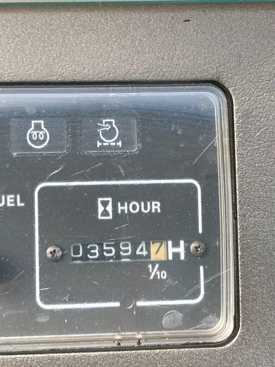 油圧ショベル ミニユンボ ユンボ コベルコ クローラー バックホー 2tクラス SR20SR_画像5