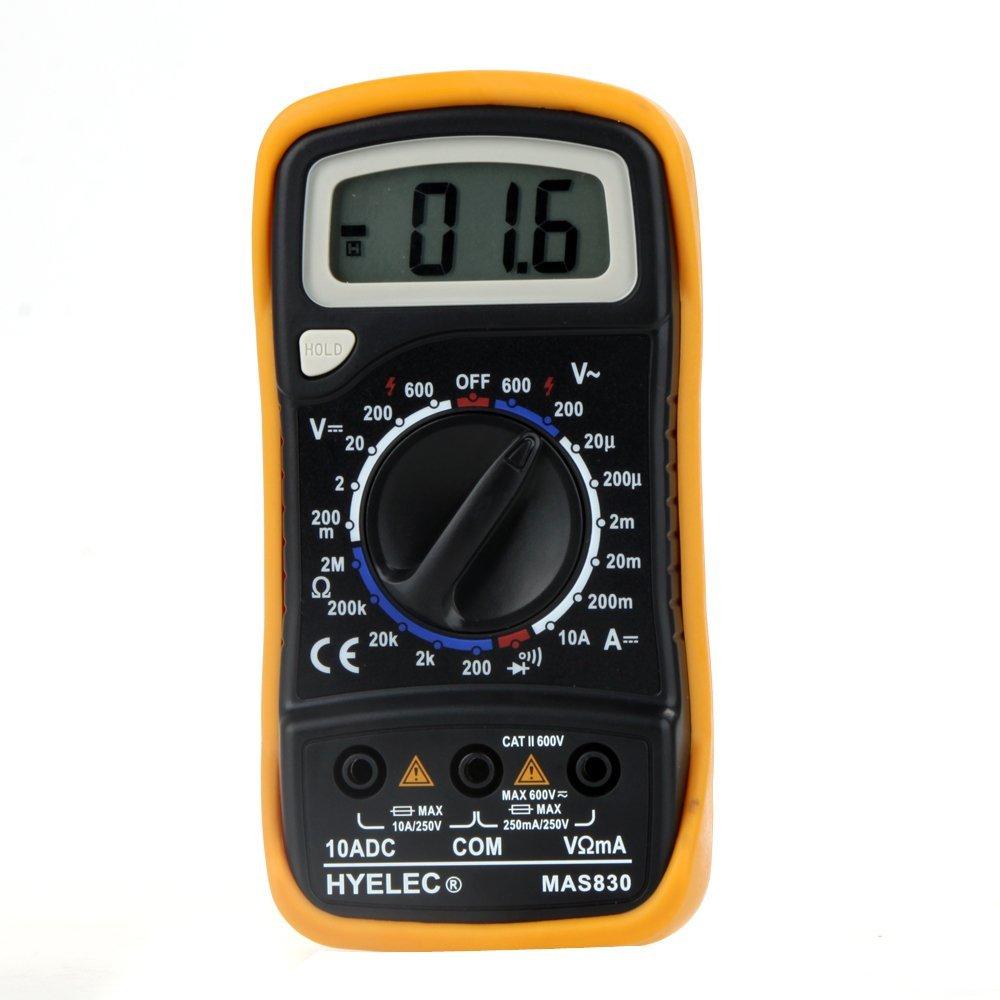 HYELEC MAS830 多機能ミニデジタルマルチメーター_画像2