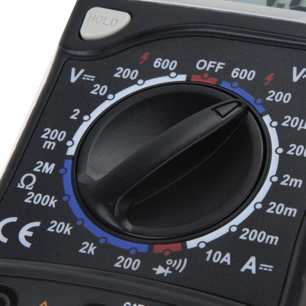 HYELEC MAS830 多機能ミニデジタルマルチメーター_画像4
