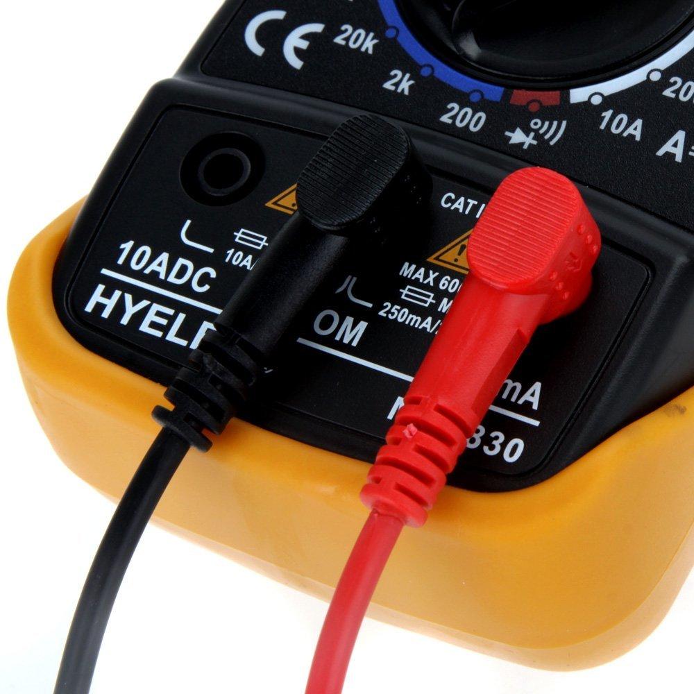 HYELEC MAS830 多機能ミニデジタルマルチメーター_画像5