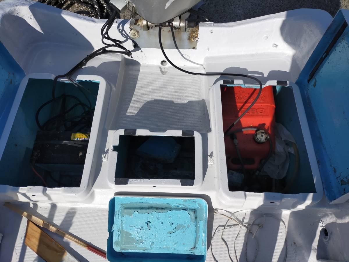 「ヤマハ 和船 ジャンク 船体のみ 船 ボート 漁船 8.2メートル 船外機」の画像3