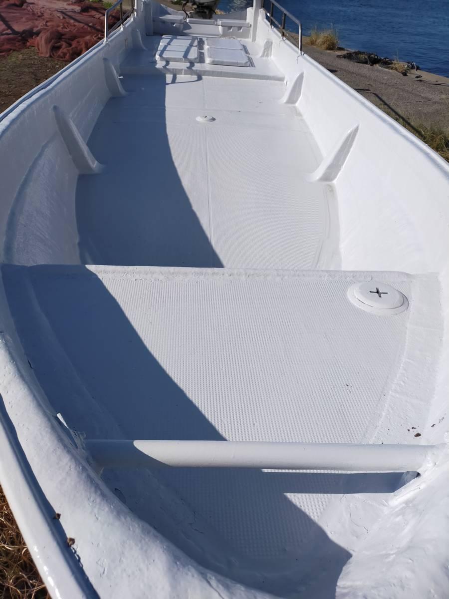 「ヤマハ 和船 ジャンク 船体のみ 船 ボート 漁船 8.2メートル 船外機」の画像2