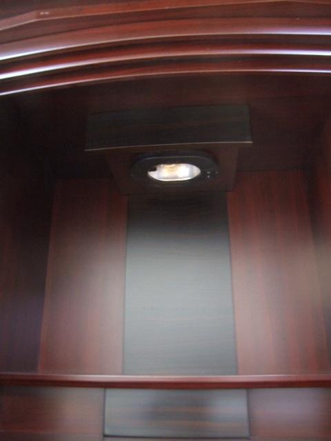 上置18号紫檀色4枚扉 高55cm幅41.5cm奥行33cm 仏壇仏具仏像仏教