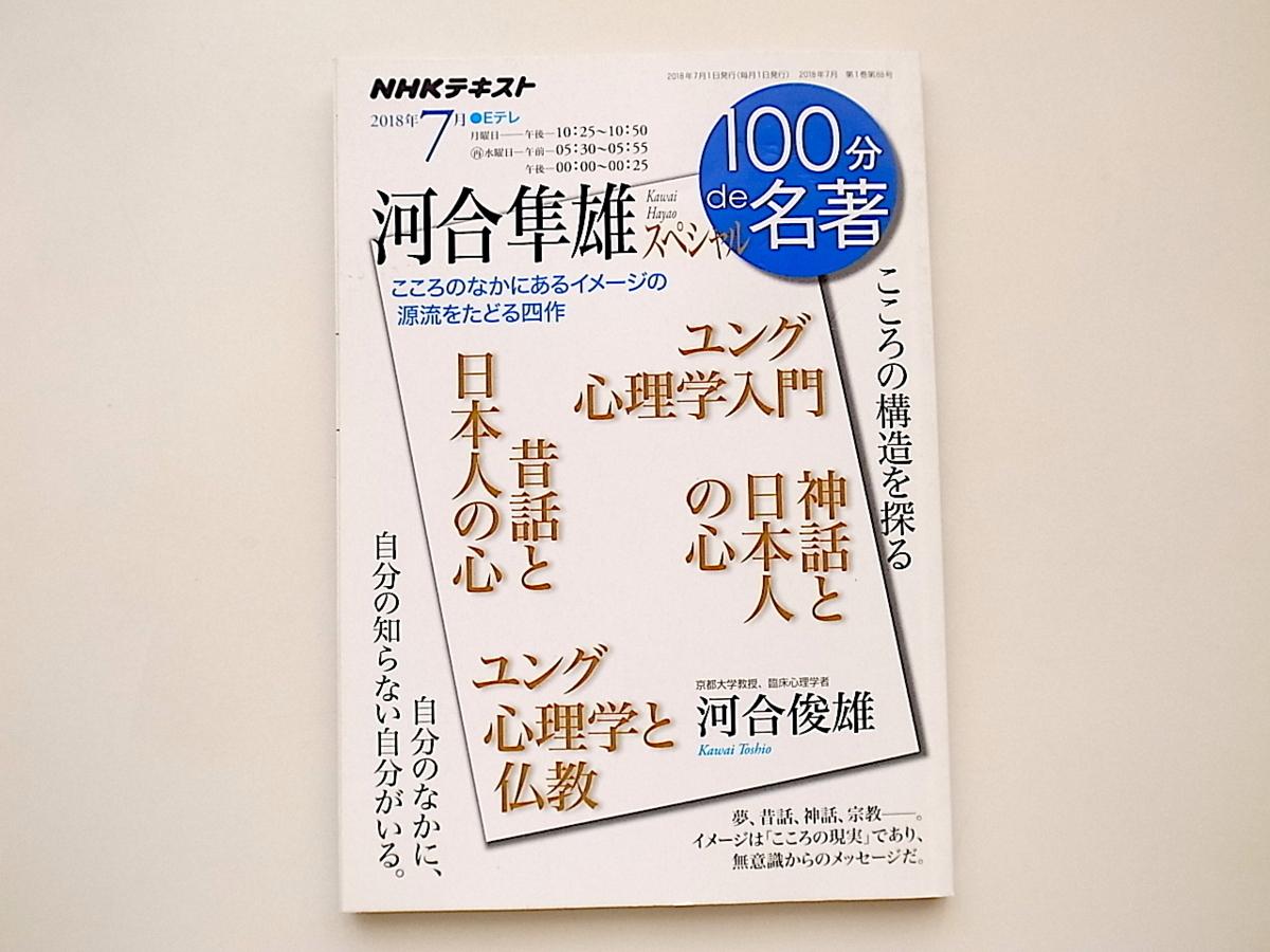 20j◆ 河合隼雄スペシャル 2018年7月 100分de名著『ユング心理学入門』『昔話と日本人の