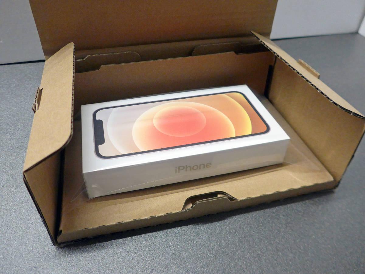 ★送料込/新品未開封★国内版SIMフリー/アップルストア版iPhone 12 64GB ホワイト[MGHP3J