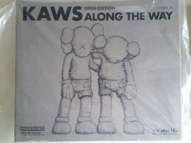 [新品未開封] KAWS ALONG THE WAY × BROWN × MEDICOM TOY メディコムトイ_画像2