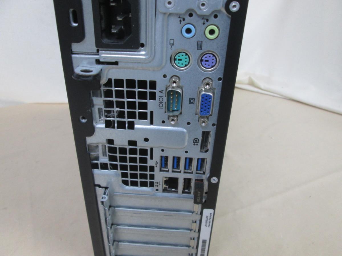 HP Compaq Pro 6300 SFF Core i3 3220 3.3GHz 8GB 240GB 爆速SSD(新品) Win10 64bit Office Wi-Fi [78186]_画像3