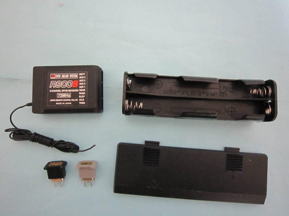 【送料無料/程度良好】JR プロポセット X2610 送信モジュール クリスタル 受信機 バッテリケース マニュアル完備