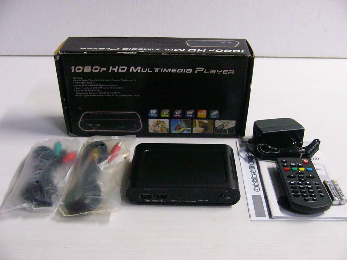 未使用 1080P HD マルチメディアプレーヤー_画像1