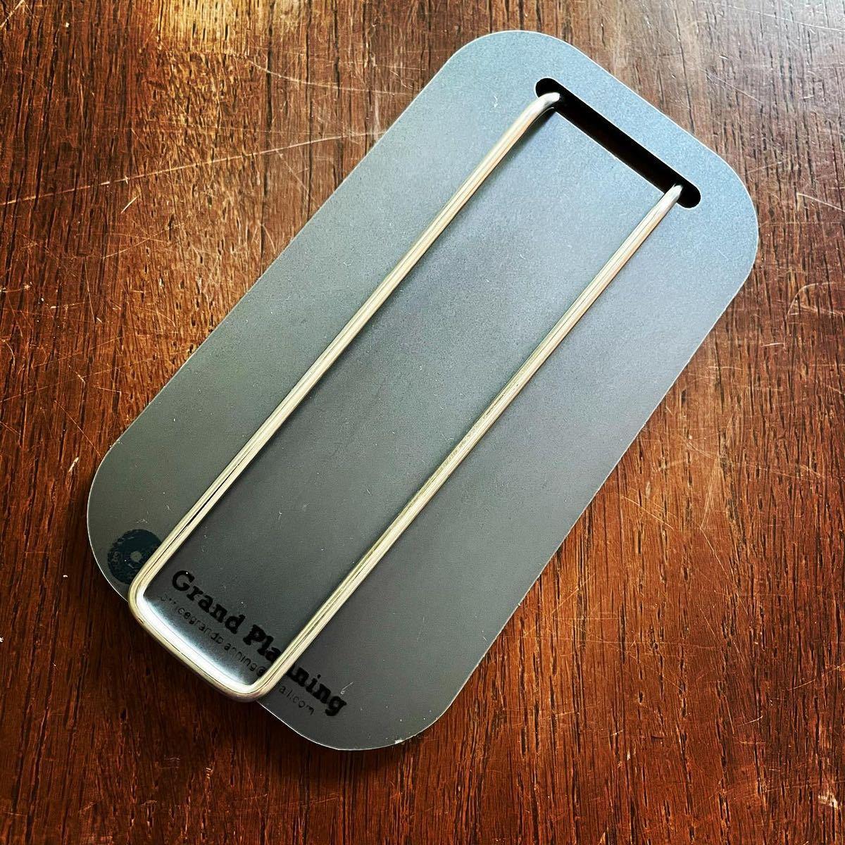 メスティン スモール 収納 6ミリ 鉄板 オリジナル取手金具 ヘラ ネオプレン収納袋 黒 大和鉄板 アウトドア ソロ鉄板