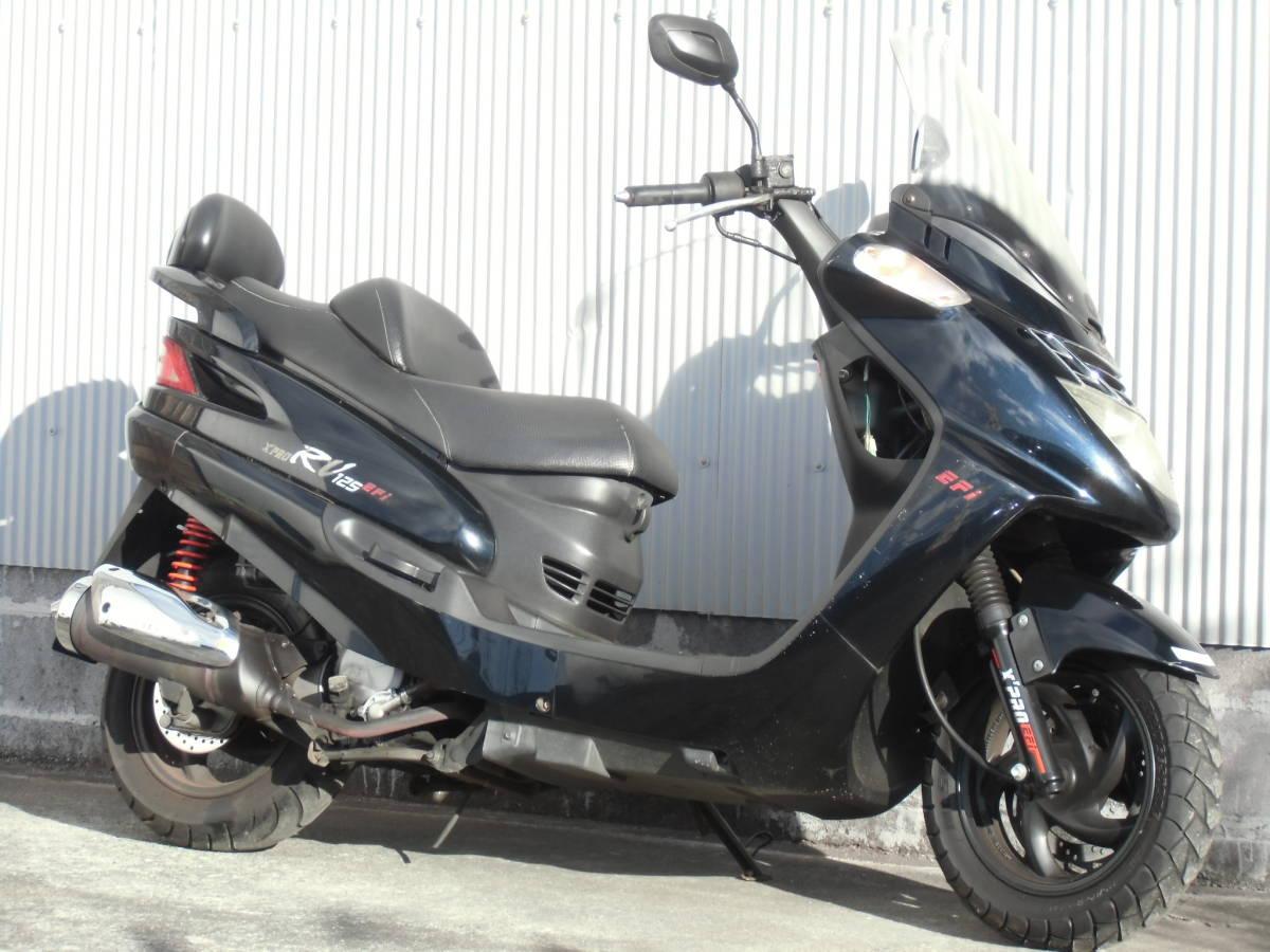 SYM RV125FI(RV125EFI) 125cc 原付二種 福島発!_画像1