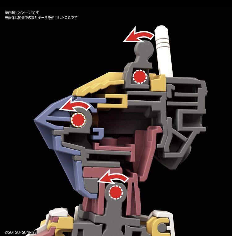 HG 機動戦士ガンダム RX-78-2 ガンダム [BEYOND GLOBAL] 1/144スケール 色分け済みプラモデル 未使用未組立_画像4