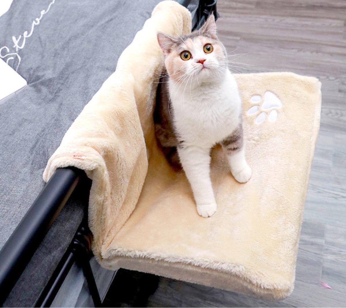猫用 ベッド 掛けベッド ハンモック 引っ掛けベッド