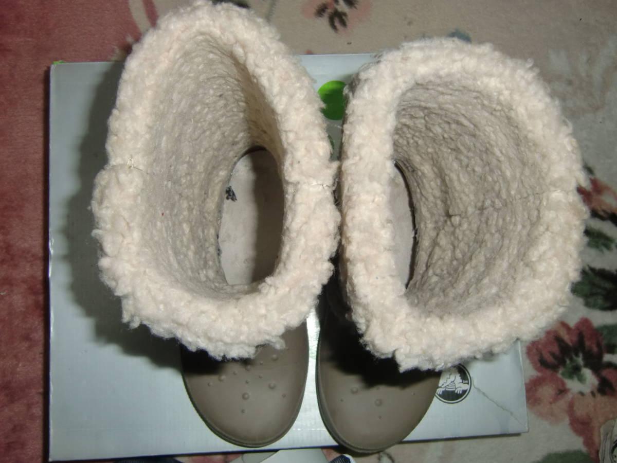 〇 クロックス レディース ブーツ サイズW6_画像5