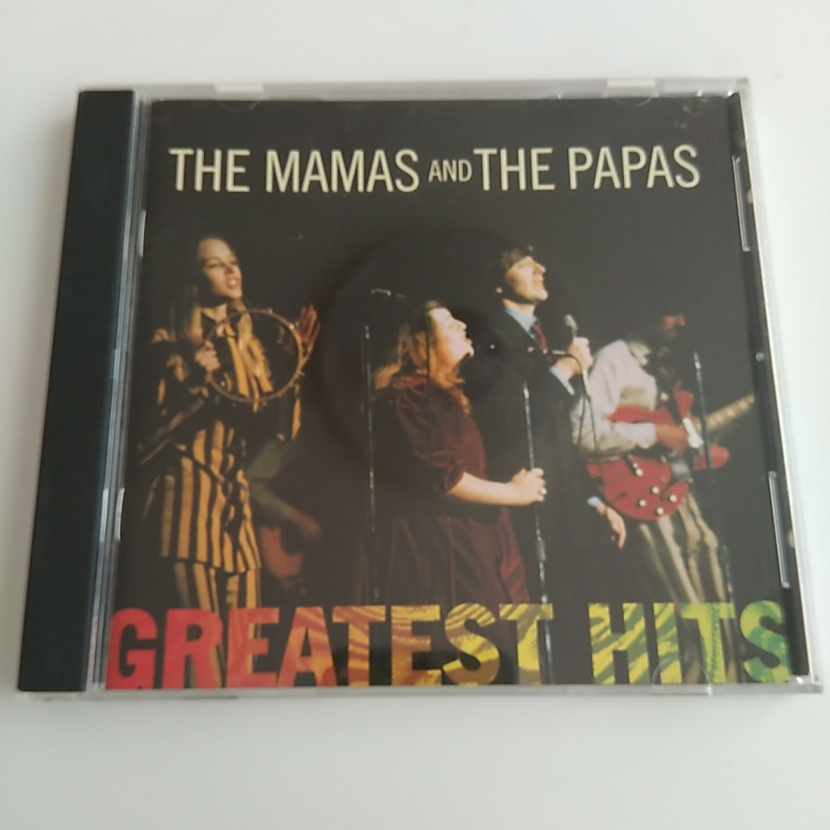 THE MAMAS AND THE PAPAS GREATEST HITS 中古CD