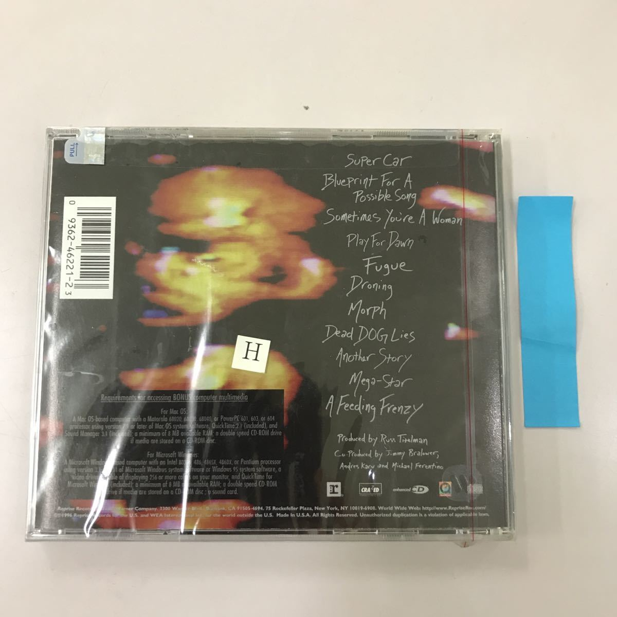 CD 輸入盤未開封【洋楽】長期保存品 I WAS HERE