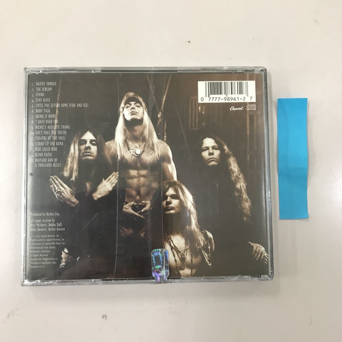 CD 輸入盤未開封【洋楽】長期保存品 POISON NATINE TONGUE