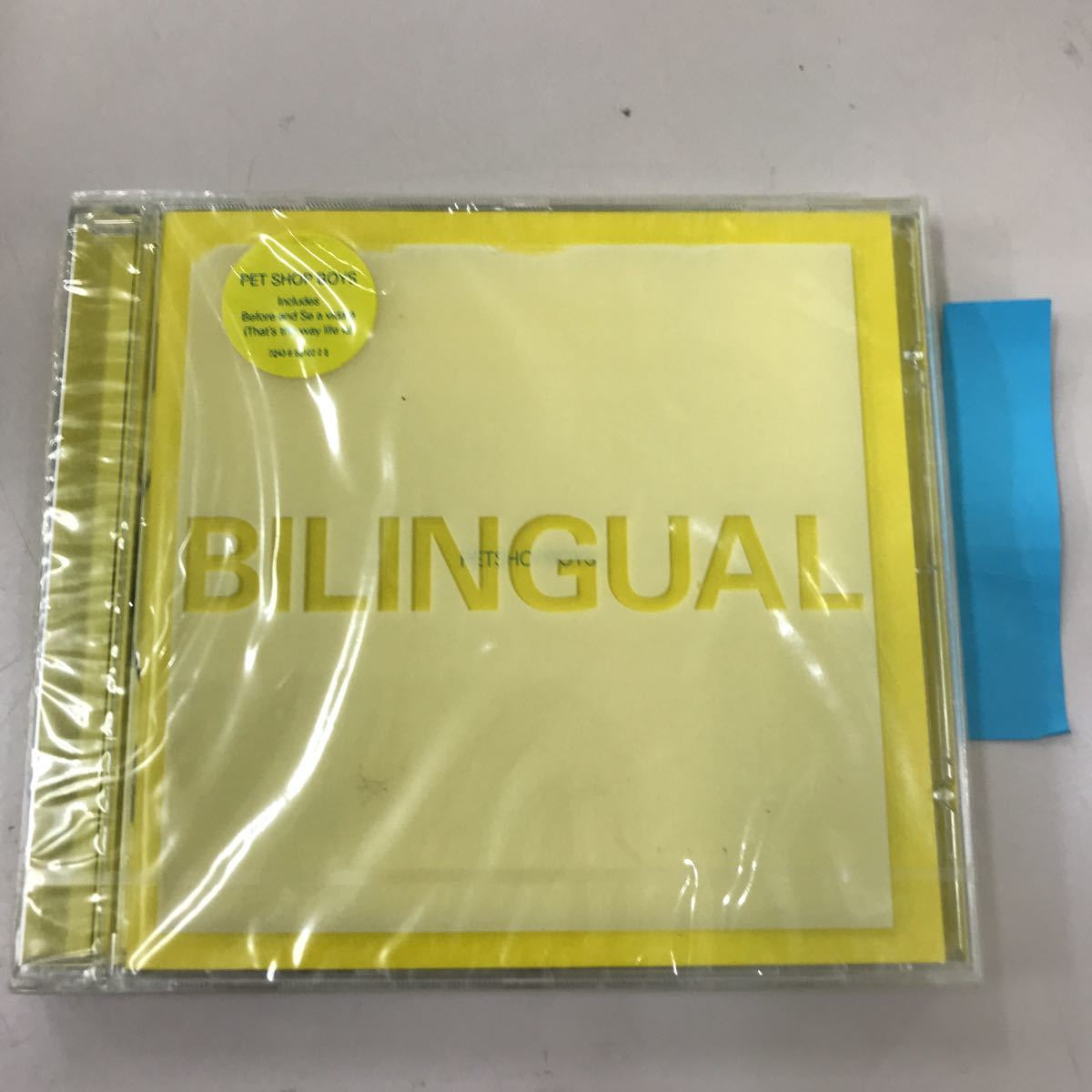 CD 輸入盤未開封【洋楽】長期保存品 BILINGUAL