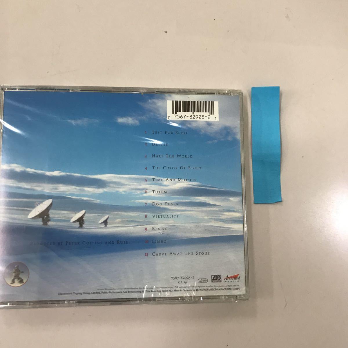 CD 輸入盤未開封【洋楽】長期保存品 RUSH TEST FOR ECHO