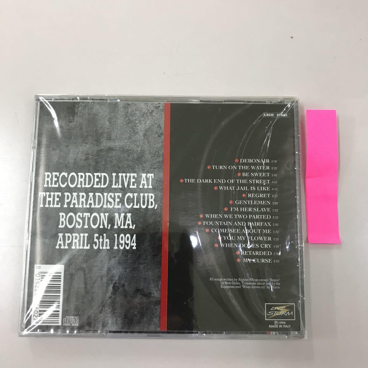 CD 輸入盤未開封【洋楽】長期保存品 AFGHAN WHIGS BOSTON 1994