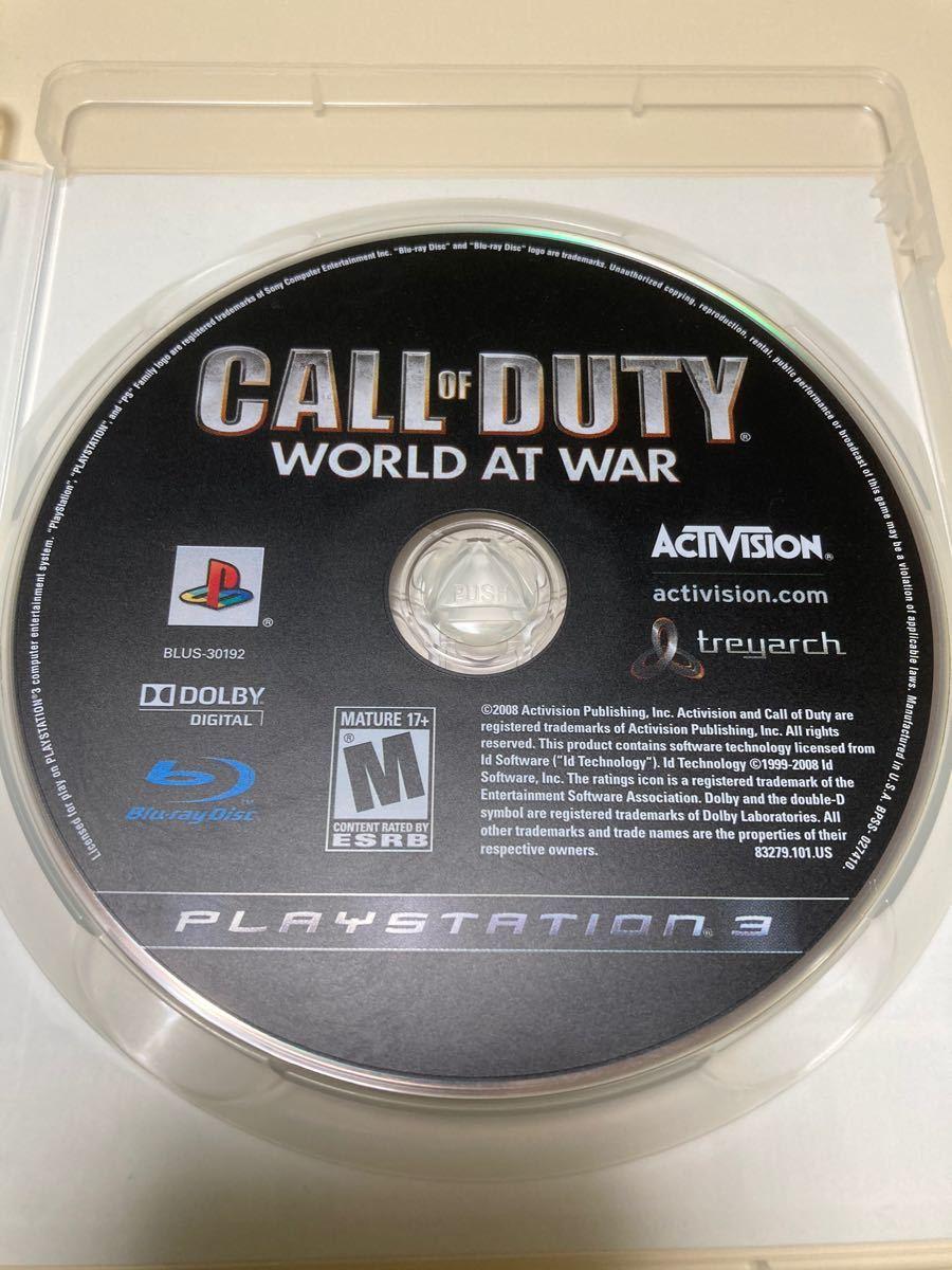 コールオブデューティ ワールドウォー CALLofDUTY WORLD AT WAR PS3 (輸入版) 入手困難品