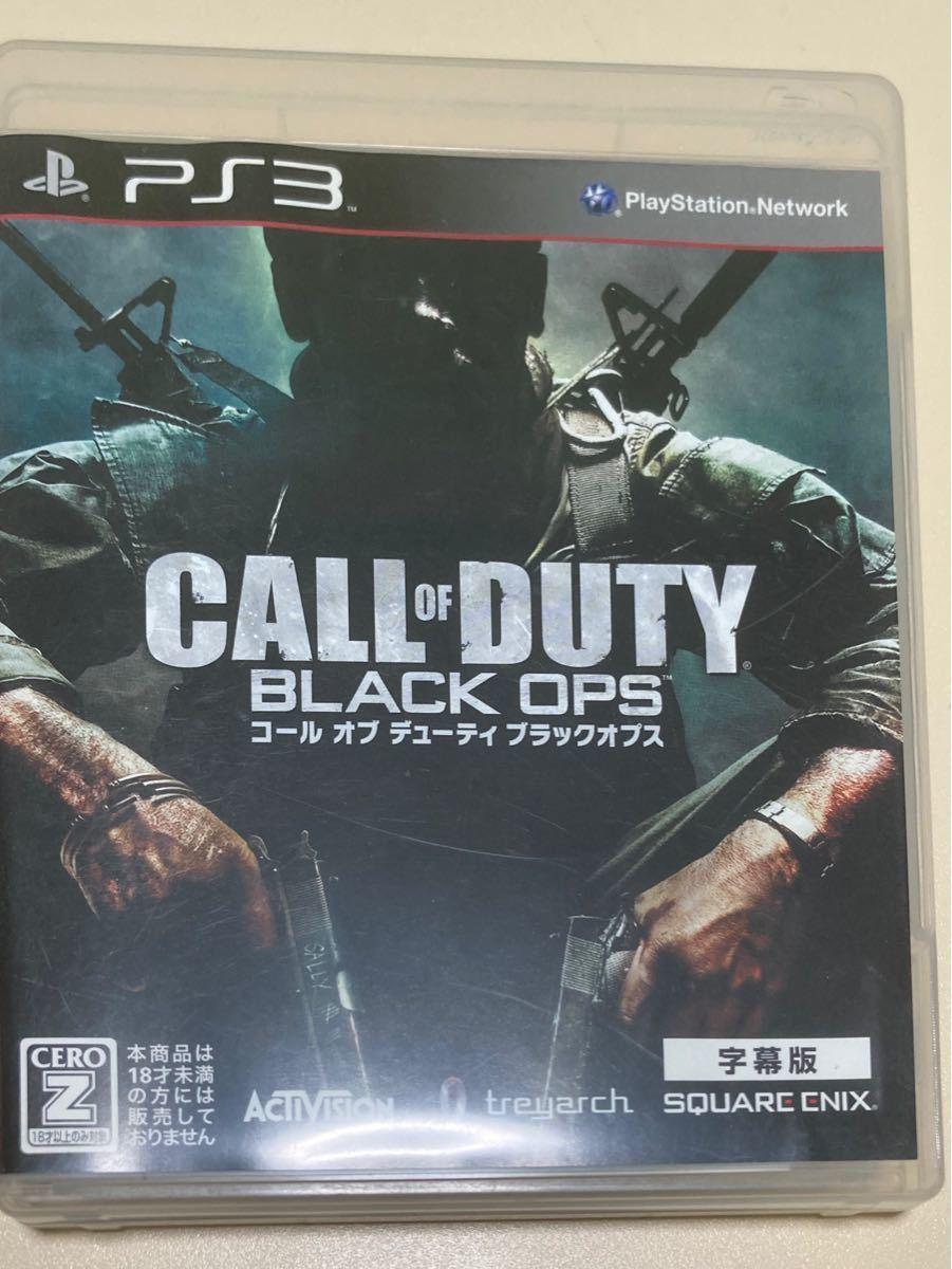 最安値 コールオブデューティ ブラックオプス1 字幕版 PS3