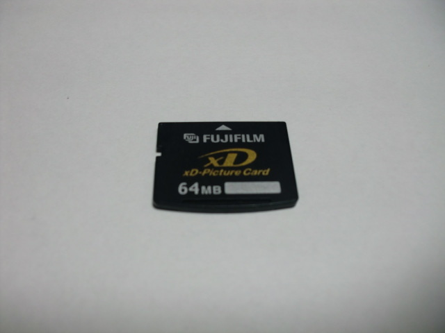 FUJIFILM XD card 64MB XD Picture card format ending postage 63 jpy