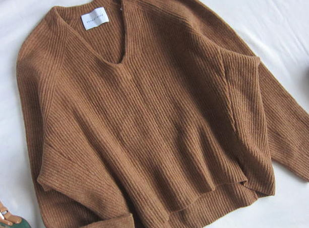 ◆アダムエロペ  ADAM ET ROPE'  ふんわり セーター_画像4