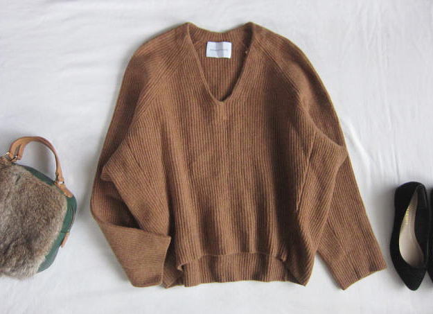 ◆アダムエロペ  ADAM ET ROPE'  ふんわり セーター_画像1