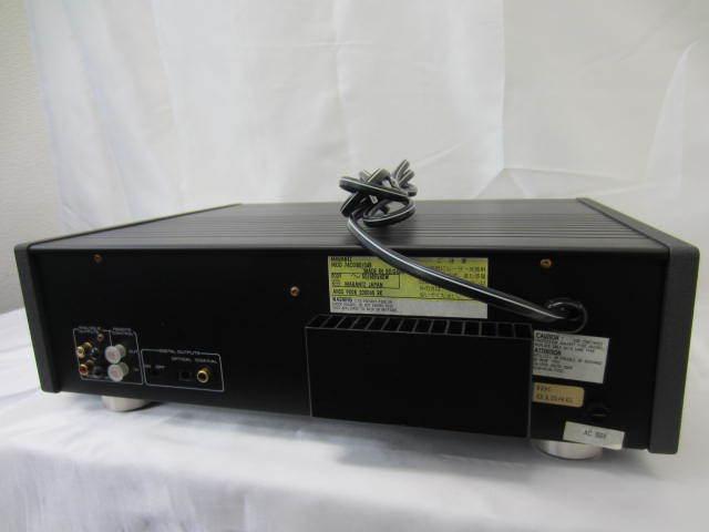 marantz マランツ 【CD-80】 コンパクトディスクプレーヤー 音出し確認済 中古 リモコン・説明書あり CDプレーヤー_画像6