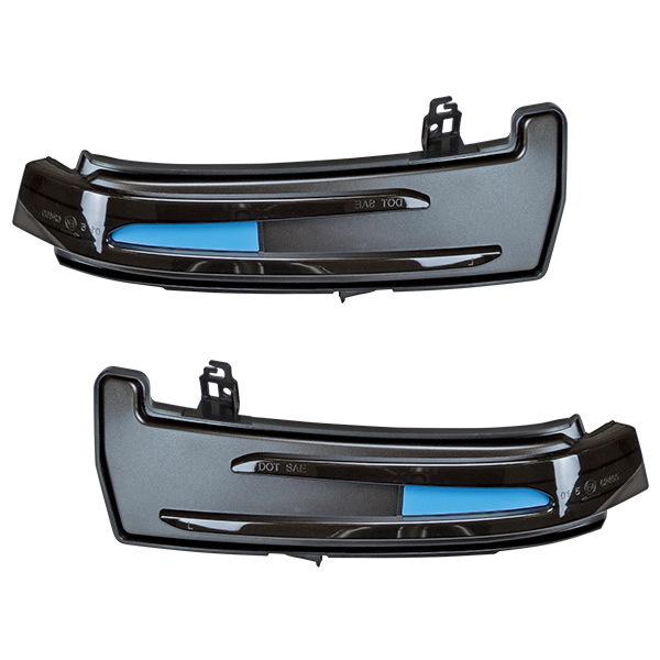 【M's】ベンツ W176 W246 W204 W212 C207 MAX-シーケンシャル LEDドアミラー ウィンカー左右//317311 社外品 流れるウィンカー_画像1