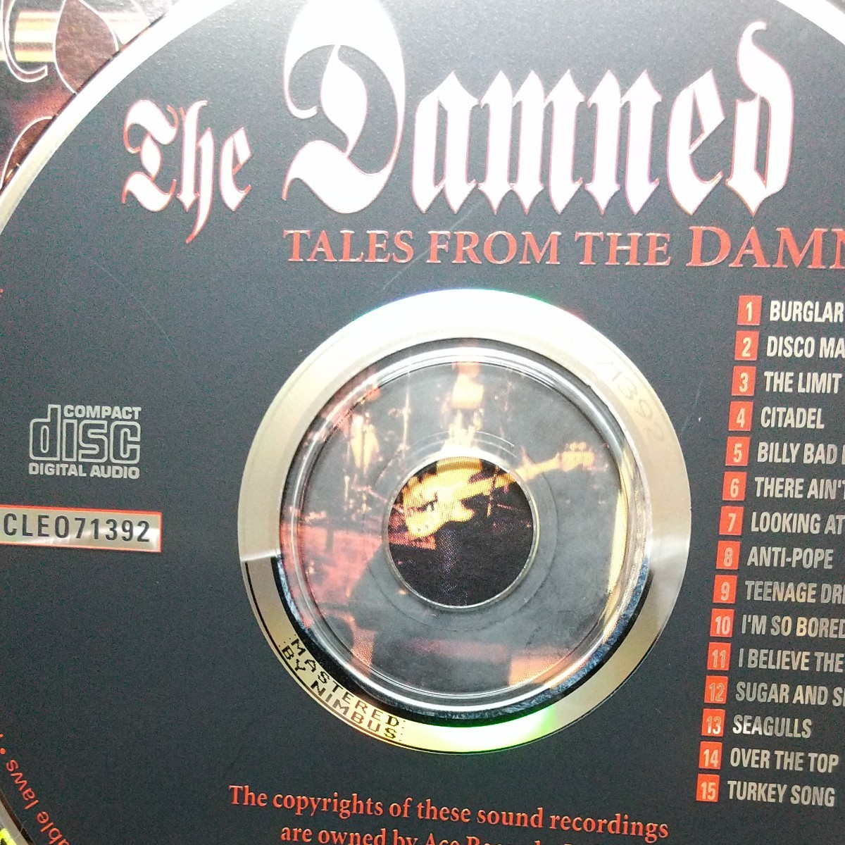 the damned/tales from the damned