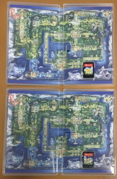 送料無料 2本セット ポケットモンスター Let's Go! ピカチュウ イーブイ ポケモン レッツゴー Nintendo Switch ニンテンドースイッチ 即決_画像3