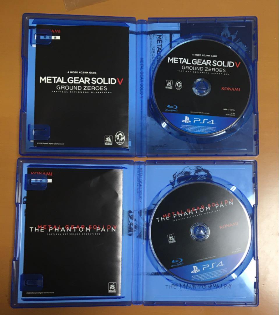 解説書付き送料無料 PS4 メタルギアソリッドⅤ ファントムペイン グラウンドゼロズ METAL GEAR SOLID 5 THE PHANTOM PAIN GROUND ZEROES_画像3