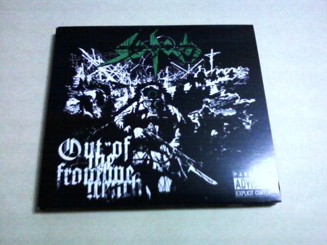 Sodom ‐ Out Of The Frontline Trench☆Kreator Destruction Slayer Possessed Exodus Metallica Overkill
