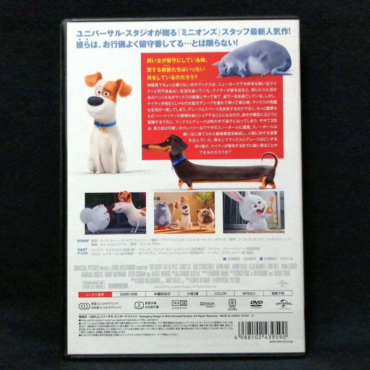 DVD 『ペット』 レンタル版