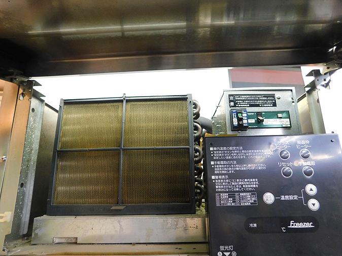 函館市引取り歓迎 美品 HOSHIZAKI ホシザキ リーチイン 冷凍ショーケース FS-63XT3-1 2011年頃 単相100V/三相200V_画像4