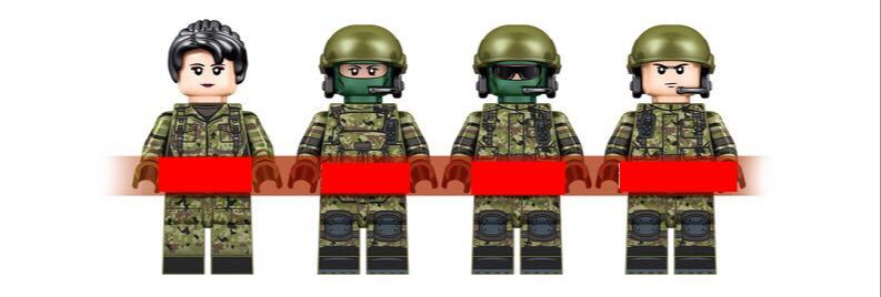 10式主力戦車 ミニフィグ レゴ 互換 LEGO 互換 テクニック フィギュア 陸上自衛隊 type10 main タンク 806pcs_画像3