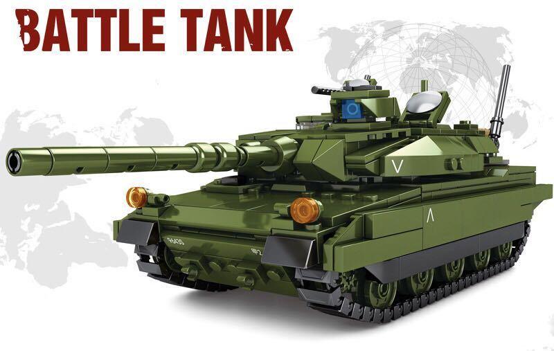 10式主力戦車 ミニフィグ レゴ 互換 LEGO 互換 テクニック フィギュア 陸上自衛隊 type10 main タンク 806pcs_画像5